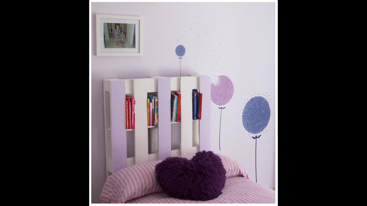 Diy c mo hacer facilmente un cabecero librer a con palet - Ideas para un cabecero de cama ...