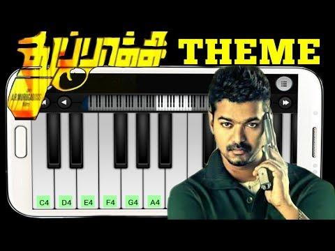 thupakki-theme-|-piano-tutorial-|-vijay-&-kajal-agarwal-|-thupakki-bgm-|-keyboard-wonder