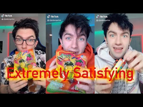 Jelly Fruit Tiktok Compilation (Jelly fruit, Hit or Miss, Chicken Leg Bis,) Extremely Satisfying
