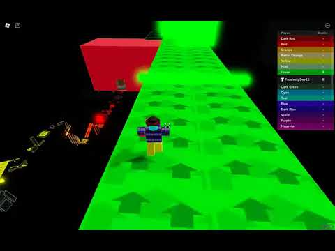 Lobby - Blue Walkthrough (Dimensional Obby) |