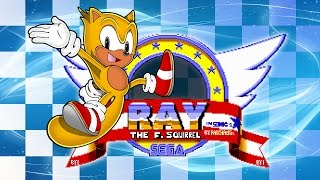 Ray the Flying Squirrel in Sonic the Hedgehog - Walkthrough
