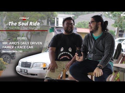 Mercedes Benz C180, Mobil Balap Harian. The Soul Ride #1