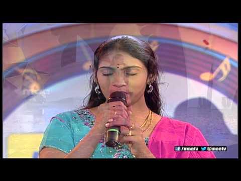 Super Singer 1 Episode 33 : Anjana Sowmya Performance ( Shashi Vadane )