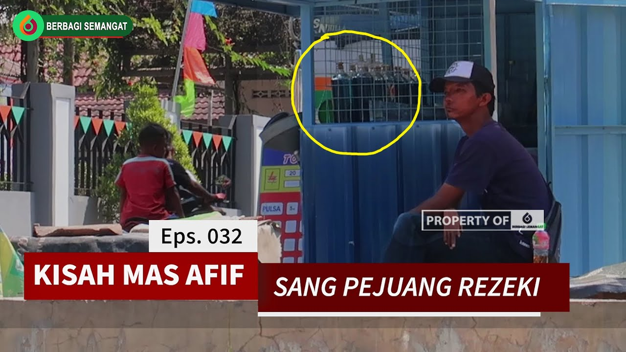 SEMANGAT SEDEKAH Eps. 032 - Santunan Kepada Mas Afif Sang Pejuang Rezeki