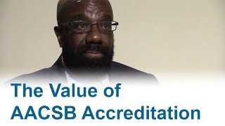 The Value of AACSB Accreditation thumbnail
