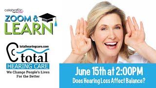 Does Hearing Loss Affect Balance?