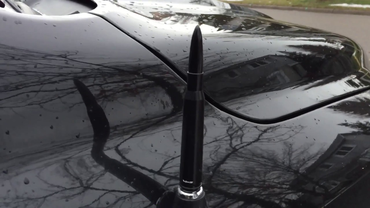 2018 Red Dodge Ram >> VMS 50 Caliber Black Bullet Antenna for Dodge Ram - YouTube