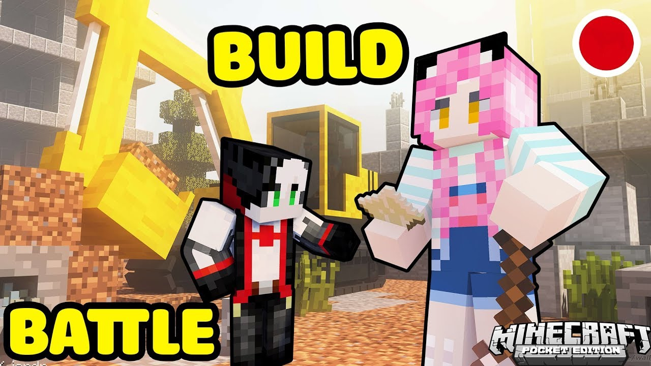 MỀU VÀ REDHOOD STREAM BUILD BATTLE TRONG MINECRAFT*REDHOOD STREAM MINECRAFT MURDER CÙNG MỀU