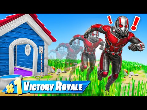 The ANT MAN *AVENGERS* Challenge in Fortnite!