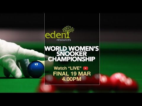 Ng On Yee (Hong Kong) vs Vidya Pillai (India) | 2017 Eden World Women's Snooker Championship final