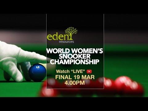 Ng On Yee (Hong Kong) vs Vidya Pillai (India) | 2017 Eden World Women's Snooker Championship final