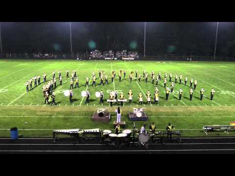 Foxborough High School Marching Band - Halftime Performance 9/17/15