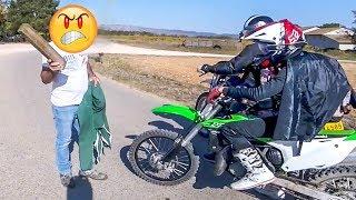 Stupid, Crazy & Angry People vs Bikers    [Ep. #115]