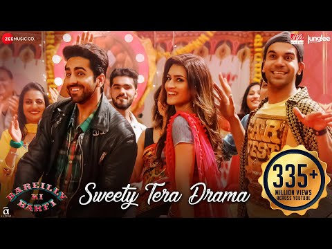 Sweety Tera Drama | Bareilly Ki Barfi | Kriti Sanon, Ayushmann, Rajkummar | Tanishk | Pawni , Dev from YouTube · Duration:  2 minutes 30 seconds