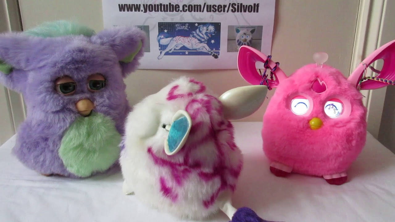 Furbies from 2006, 2012 and Furby Connect