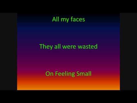 Feeling Small Marianas Trench(with lyrics)