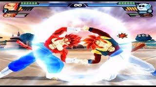 Dragon Ball Z Budokai Tenkaichi 3 - Vegetto SSJ 4 and Gogeta SSJ 4 Fusion VS MODS ALEATORIOS #8