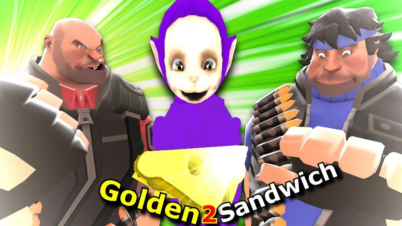 Heavy's vs Teletubbies (Golden Sandwich Collab 2 Entry)