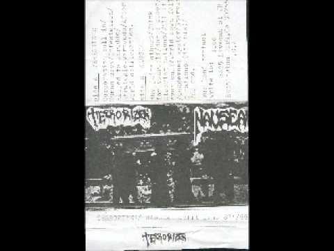 TERRORIZER - NAUSEA- SPLIT DEMO TAPE ( FULL )