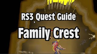 RS3: Family Crest Quest Guide - RuneScape