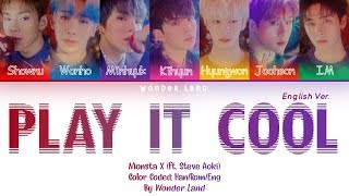 MONSTA X () - PLAY IT COOL (ft. Steve Aoki) (ENGLISH VERSION)