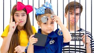 Nastya, Artem y Mia   Historia sobre un ladrón y buenas realidades
