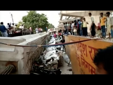 Over a dozen dead after India overpass collapse