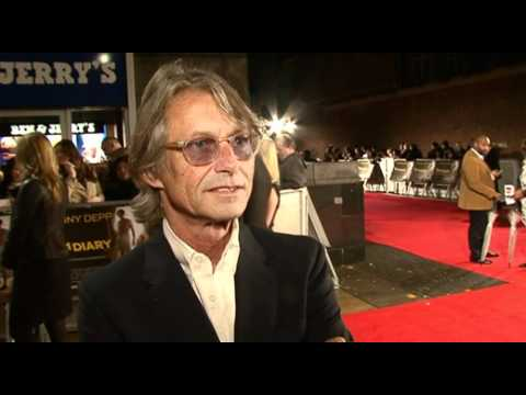 The Rum Diary London premiere - Bruce Robinson interview