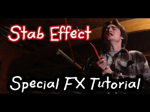 Stab Effect Tutorial | Horror Special FX