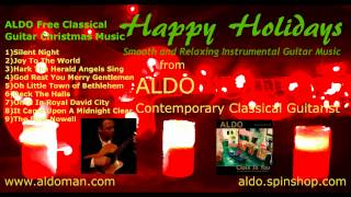 Silent Night Free Holiday Music Christmas Song Instrumental Acoustic Classical Guitar Solo by ALDO