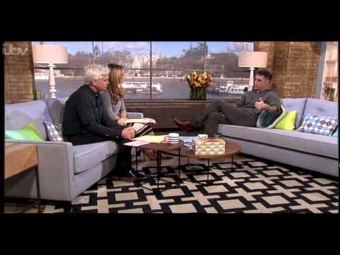 Greg Wise ed about HMRC on This Morning 3 Mar 2015