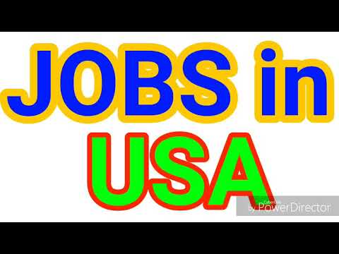 JOBS in USA | 30 LATEST JOBS for ALL NATIONALITY | JOBS TODAY from YouTube · Duration:  9 minutes 46 seconds