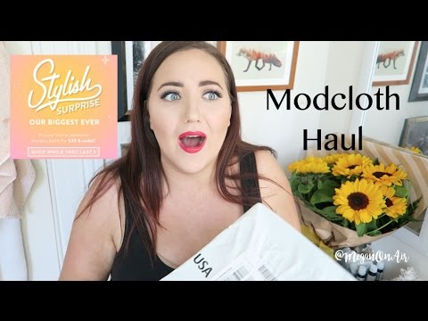 Modcloth  'Stylish Surprise'  Try-On Unboxing!!  (Plus Size)