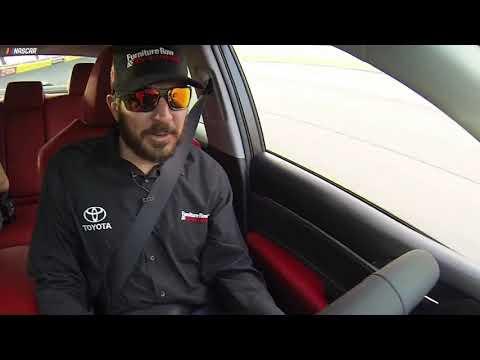 Truex Jr. hot laps Charlotte Motor Speedway