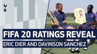 FIFA 20 RATINGS REVEAL   Eric Dier and Davinson Sanchez