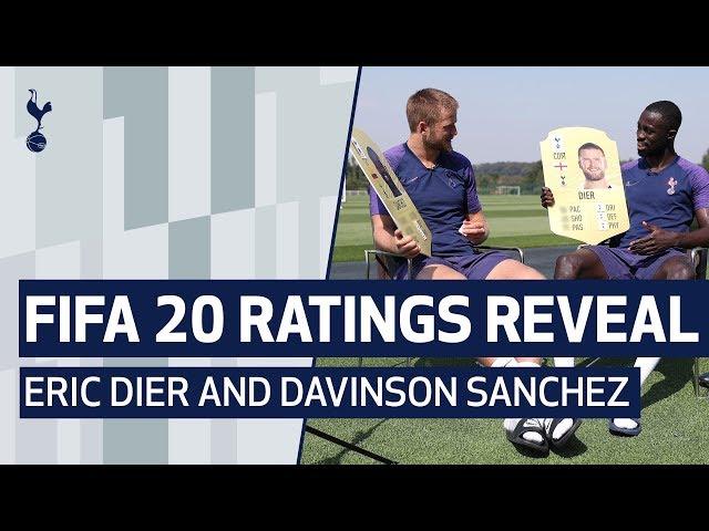FIFA 20 RATINGS REVEAL | Eric Dier and Davinson Sanchez