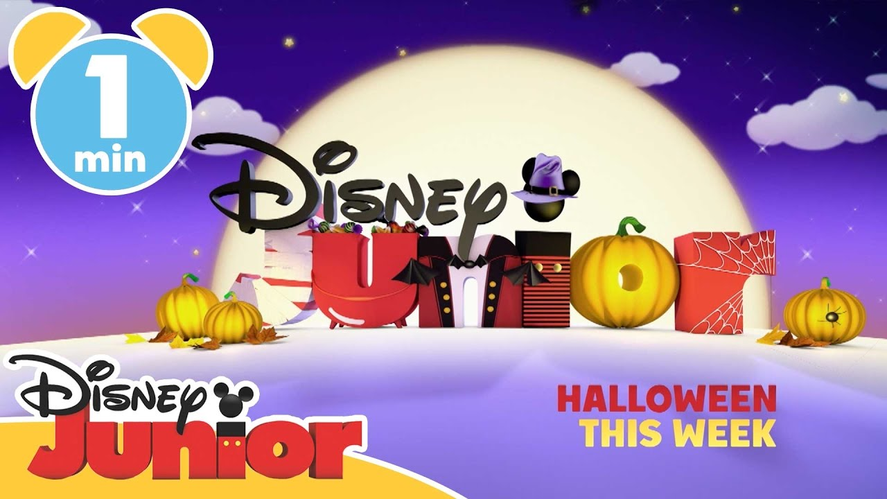 Disney Junior | Halloween Half Term | Disney Junior UK - YouTube