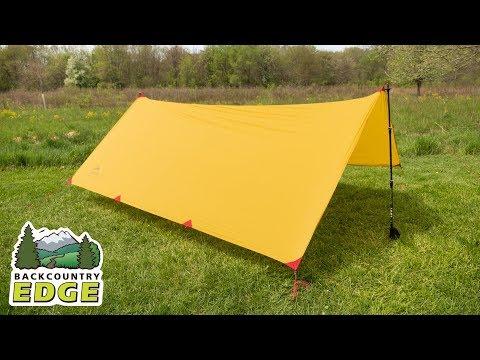 MSR Thru-Hiker 100 Wing Rain Tarp