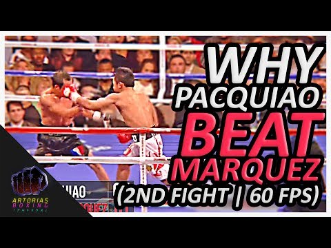 Thumbnail: Why Manny Pacquiao Beat Juan Manuel Marquez (2nd Fight | Punch Count | 60 FPS)
