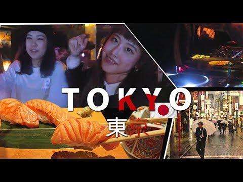 FIRST DAY IN TOKYO 🇯🇵 Shibuya: Sushi, Sake, Nightlife & Hip Hop Japanese Girls - Harlem Night Club