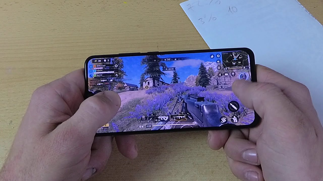 Lenovo Z6 GAME TEST (20% в час…)