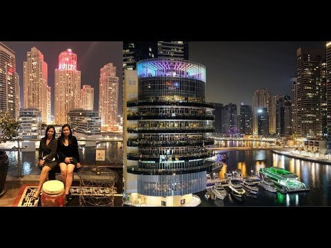 Dubai Marina's Stunning View + Pier 7 Nightout with British-Filipina Couple