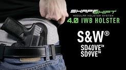 Best IWB Holster for the S&W SD 9/40 VE - Alien Gear Holsters