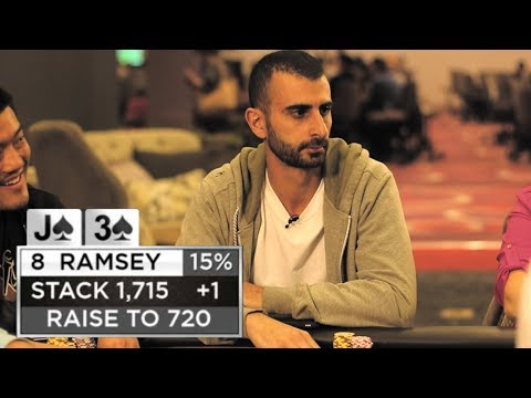 Ramsey Refuses To Back Down vs. Chris In The Ante Game ♠ Live at the Bike!