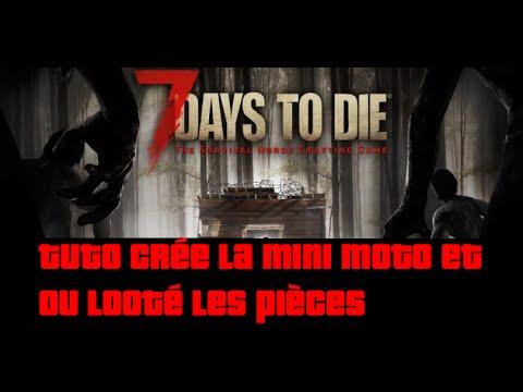 7 days to die pneu moto