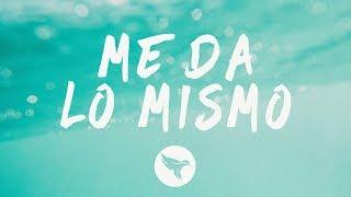 J Alvarez ft. El Alfa - Me Da Lo Mismo (Letra / Lyrics)