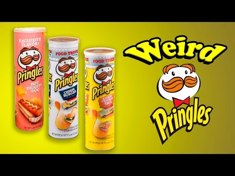 Weird Pringles Flavors | Snacking | the Tim Ridenour