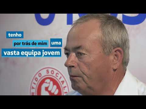David Margato na apresentação da sua candidatura à freguesia de Moinhos da Gândara