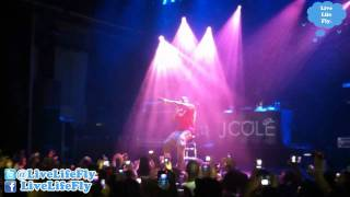 J. Cole - Cole World Tour - Melkweg Amsterdam - 1 December 2011 - Live in Concert - Live Life Fly®