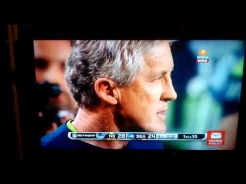 Super Bowl XLIX audio Televisa (Intercepcion Butler)